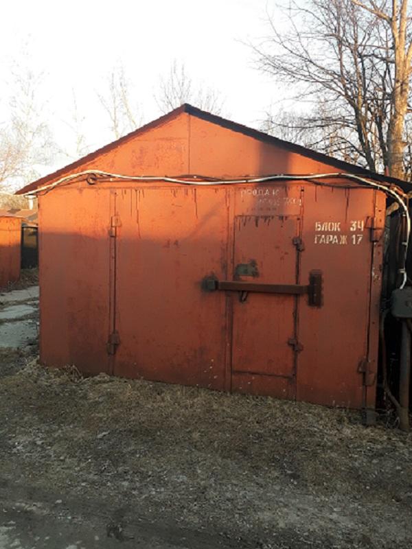Срочно продается металлический гараж.
