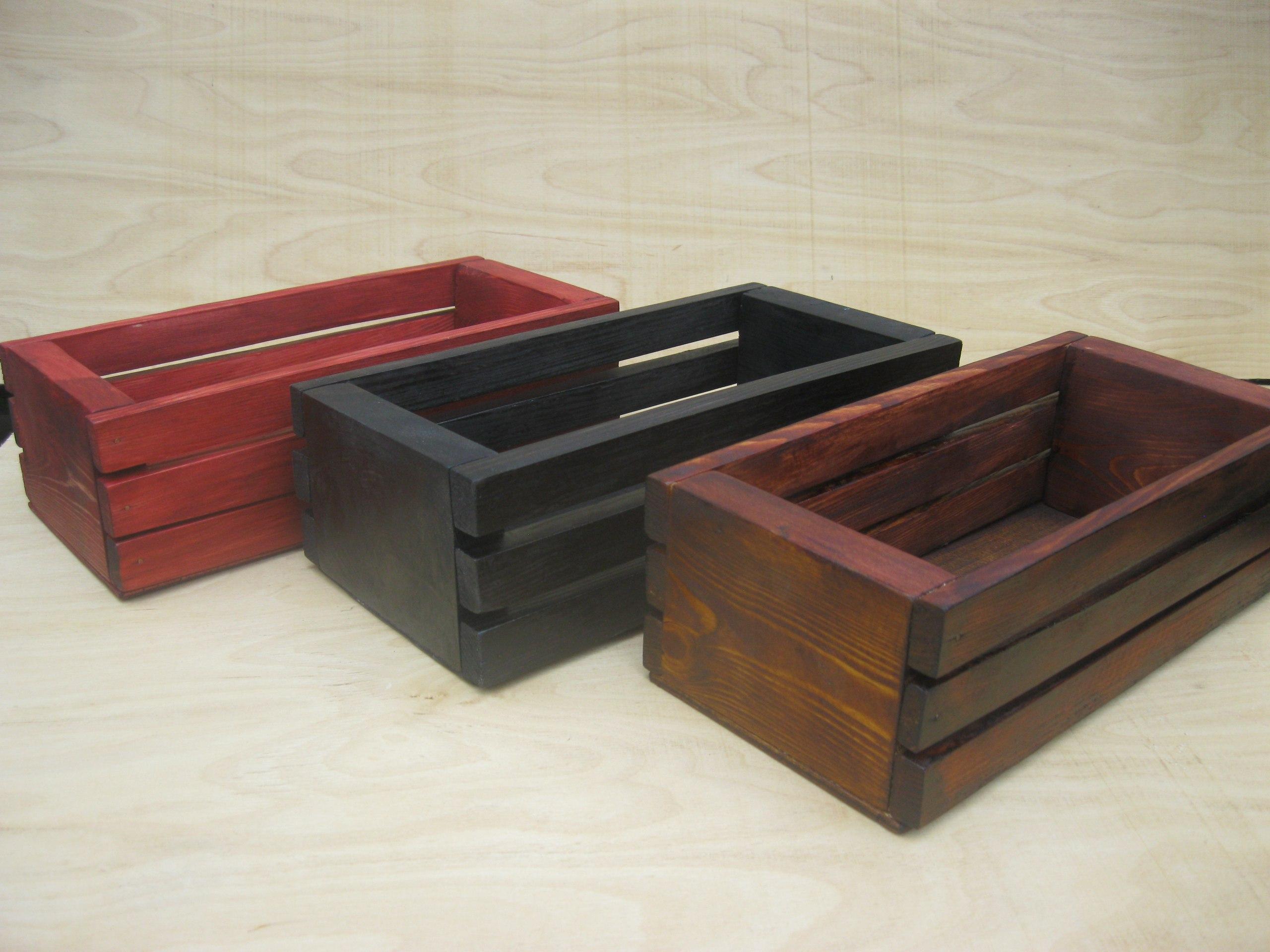 Декоративные интерьерные ящики в ассортименте