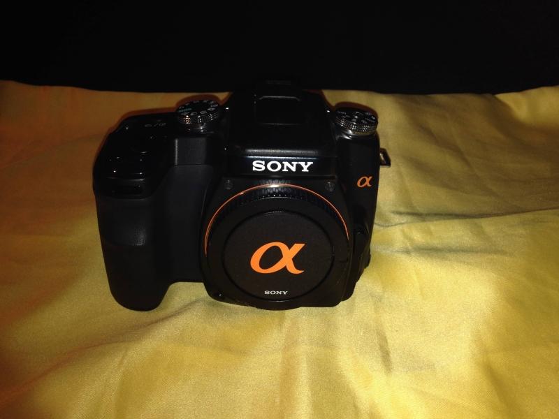 Sony Alpha DSLR-A100 body