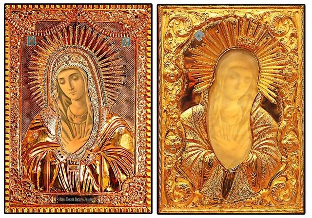 В г. Жуков привезена на поклонение Мироточивая икона