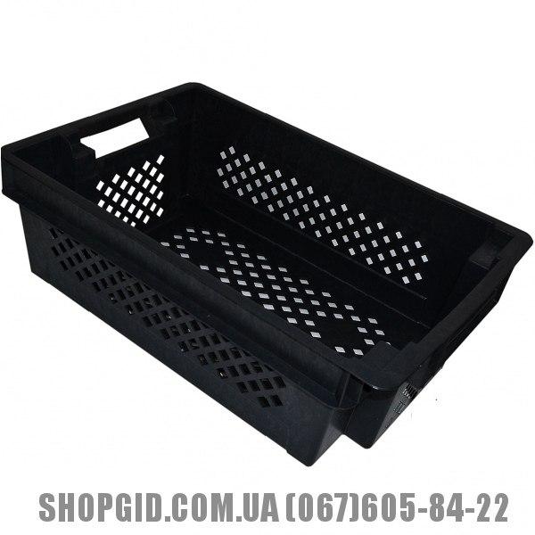 Ящик овощной купить в Николаеве shopgid com ua Пластиковый ящик для овощей