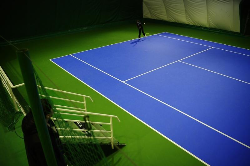 Теннисный корт по доступной цене и в минимальные сроки. Строительство. Профессио