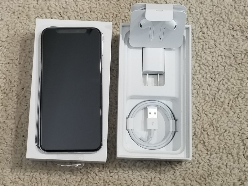 Unlocked Brand New Apple iPhone X 256GB