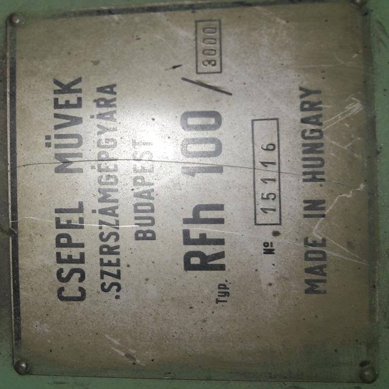 RFh 1003000 тяжелый радиально сверлильный станок Чепель