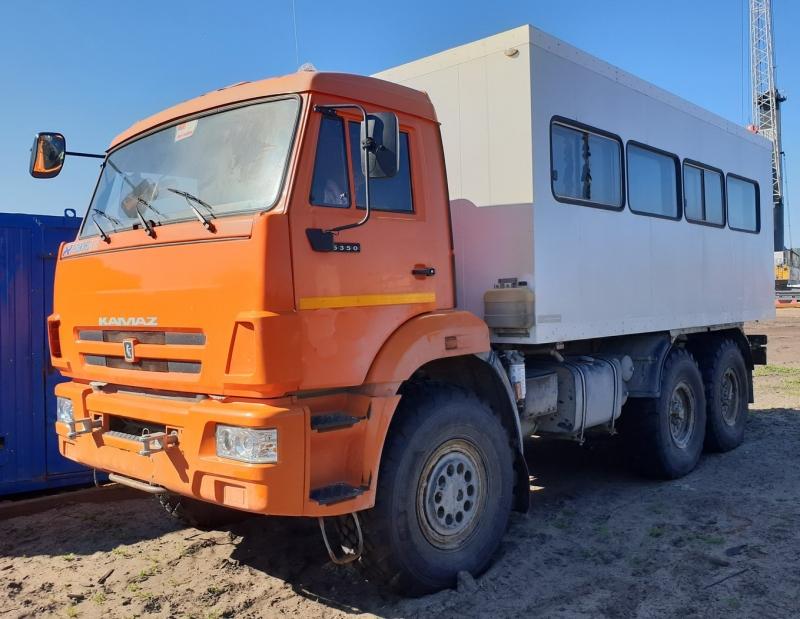 Продам вахтовый автобус Камаз 5350, 6х6, бу