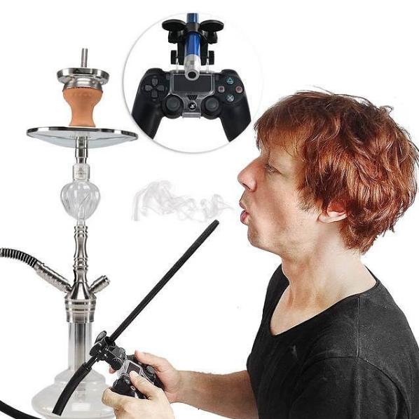 Держатель шланга кальяна для PS4